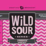 Destihl Wild Sour Series Lynnbrook Raspberry Sour Ale Label