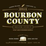 Goose Island Bourbon County Brand Stout 2014 Label