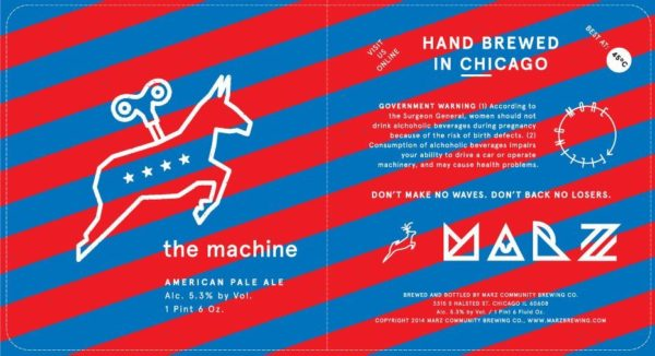 Marz The Machine American Pale Ale