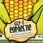 Middle Brow Keep It Copacetic Elote Ale Label