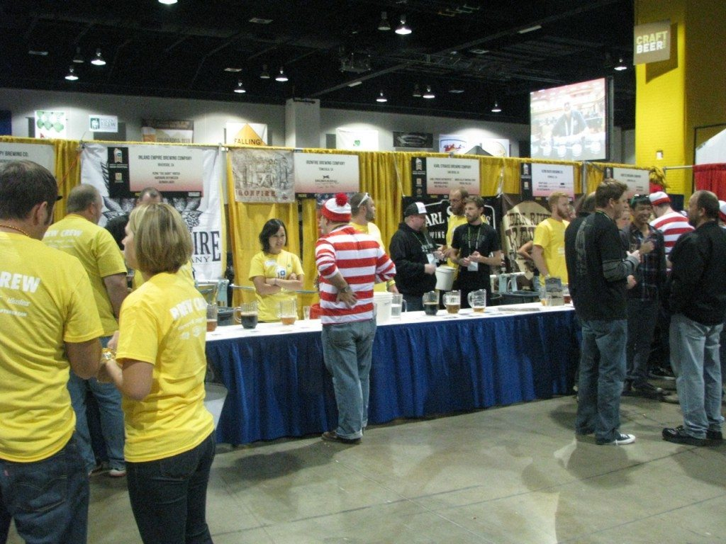 "Obligatory ""I found Waldo"" shot that is seemingly in most GABF posts."