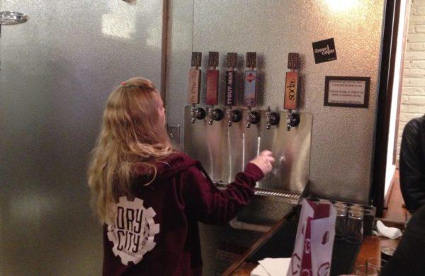 Dry City Brew Works Taps