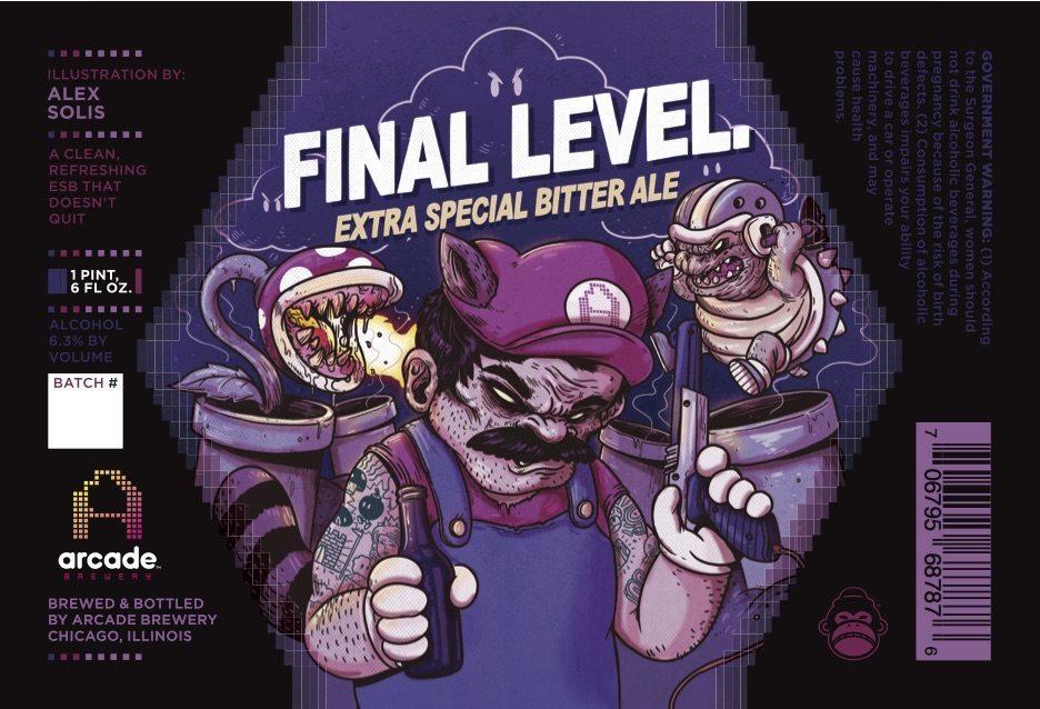 Arcade Brewery Final Level ESB Ale