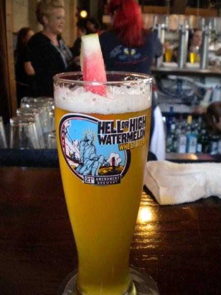 Hell or High Watermelon 21st Amendment Brewery