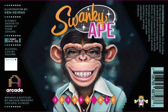 Arcade Swanky Ape Saison Label