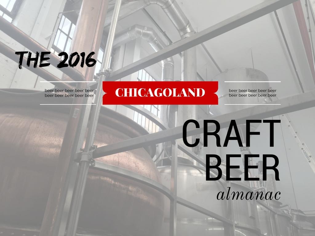 2016 Chicagoland Craft Beer Almanac